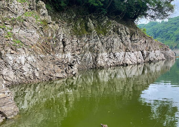 01_ 岩盤・増減水のあと
