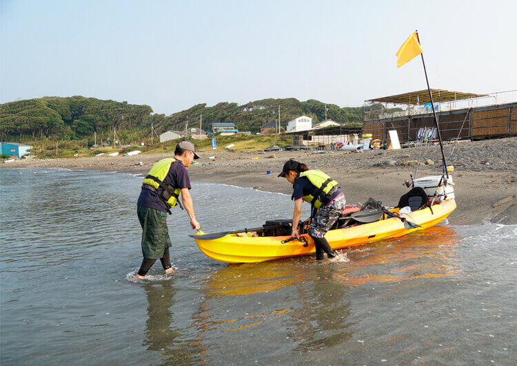 01_ 出艇の練習