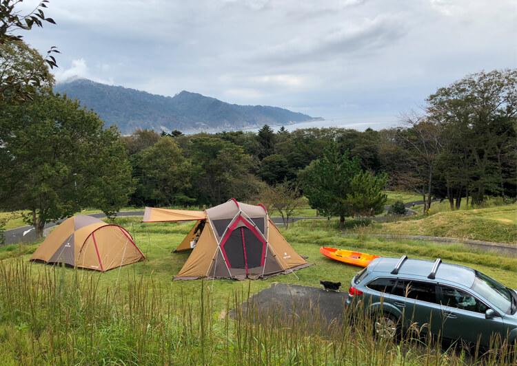 08_ キャンプ場