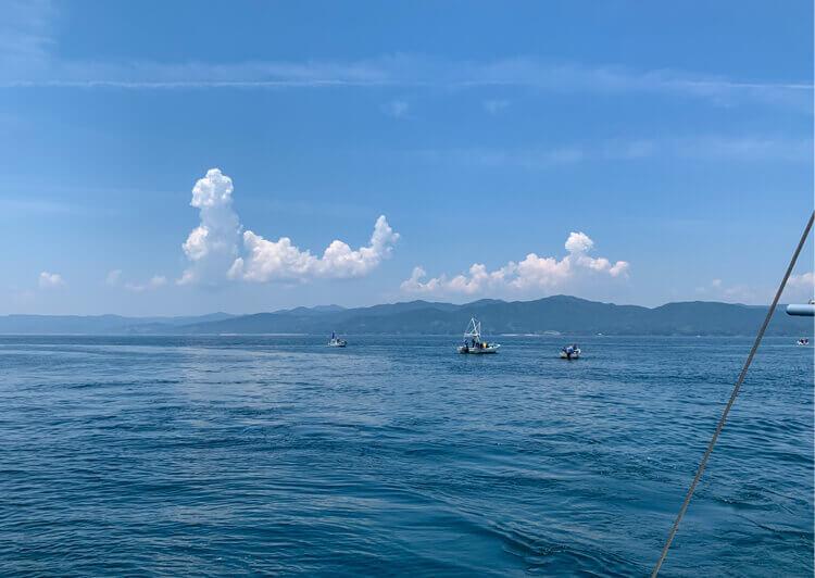 01_ 海上の風景