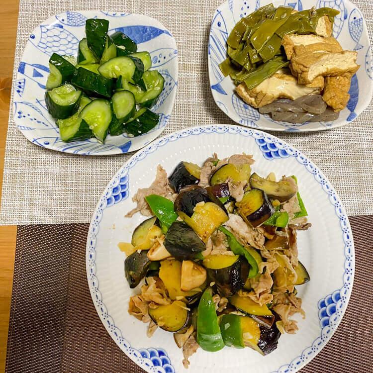 11_ 野菜の炒め物