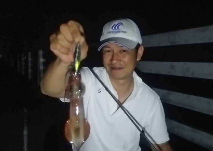 01_ ケンサキイカ釣果