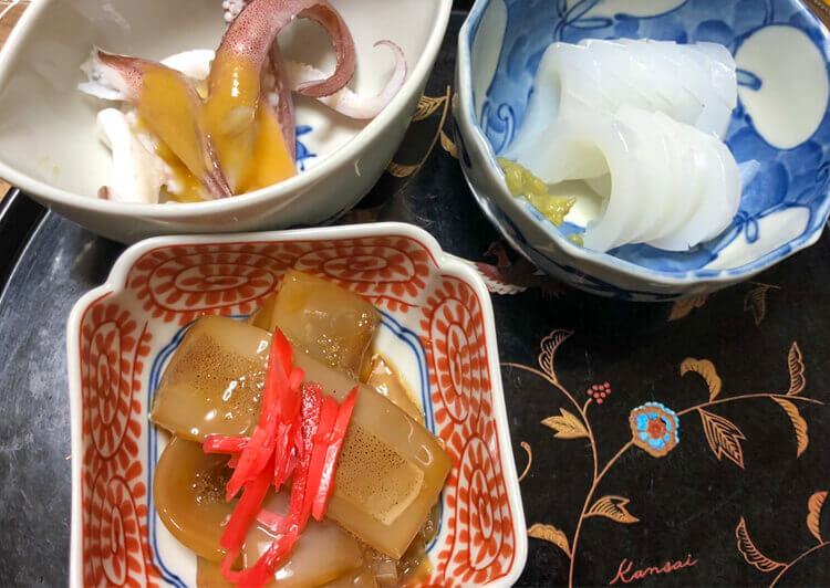 19_イカの各種料理