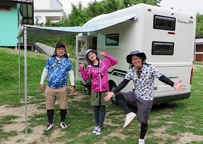 04_TVのキャンプ&釣り取材に同行 in 淡路